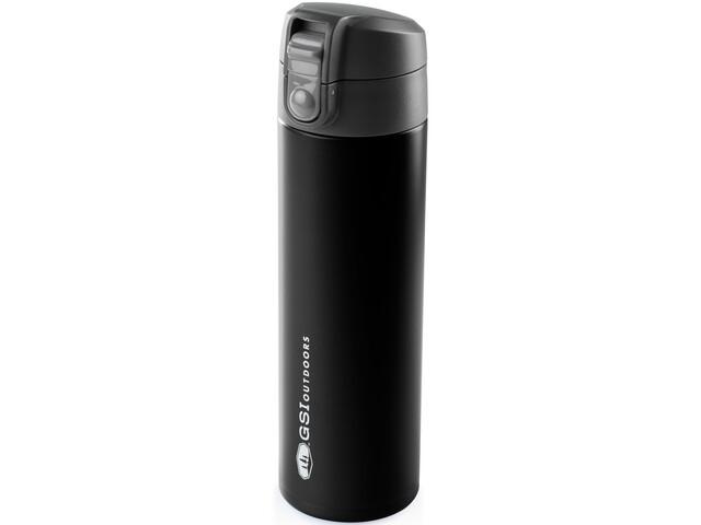GSI Microlite 500 Flip Flaske, black